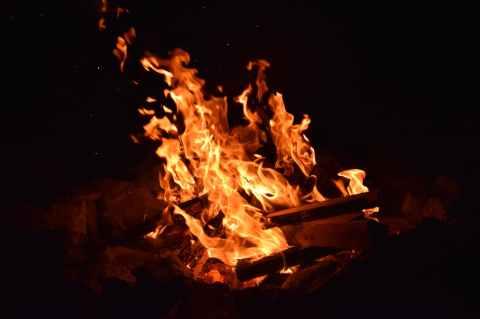 amber blaze blur bonfire
