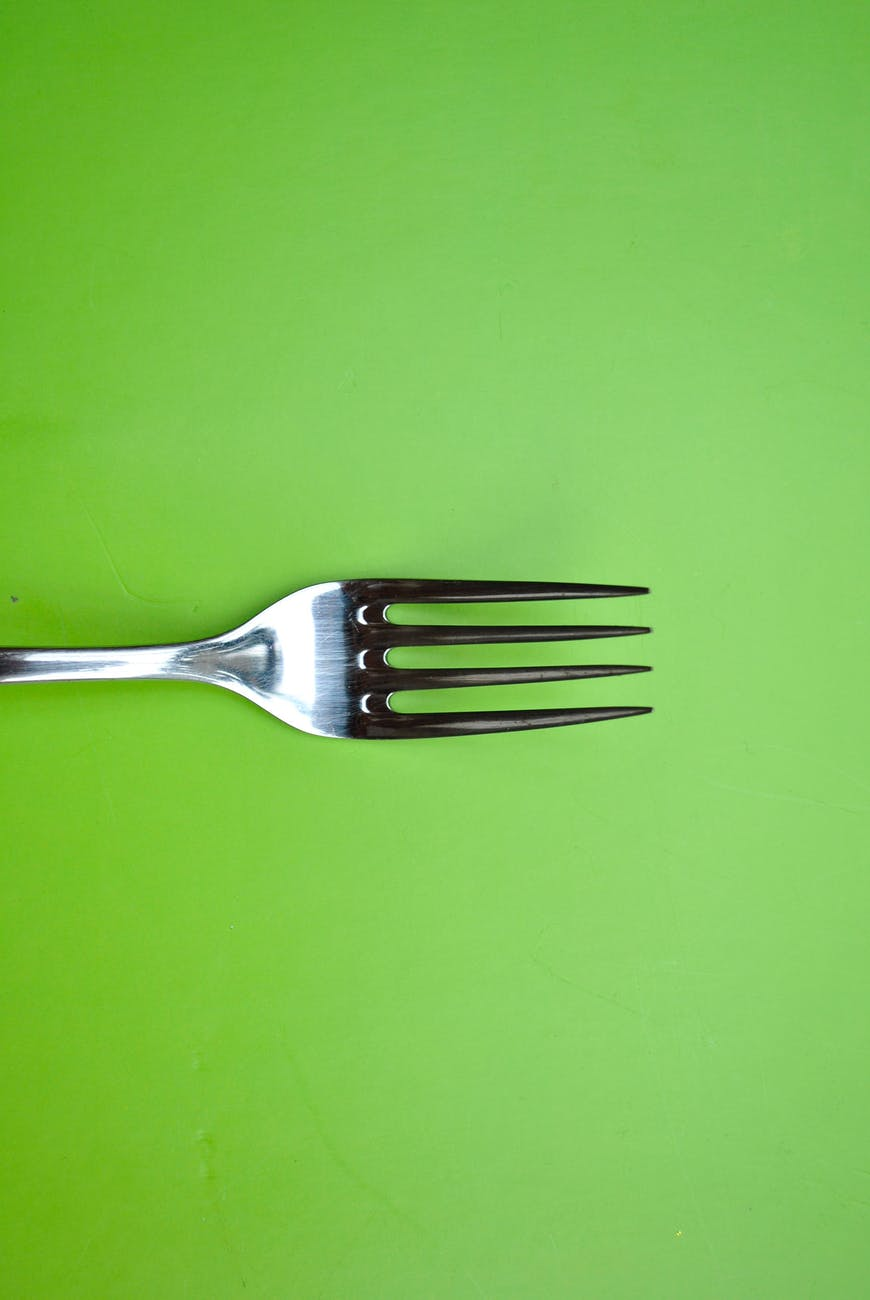 abstract art cooking cutlery
