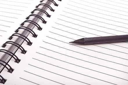 bind blank blank page business