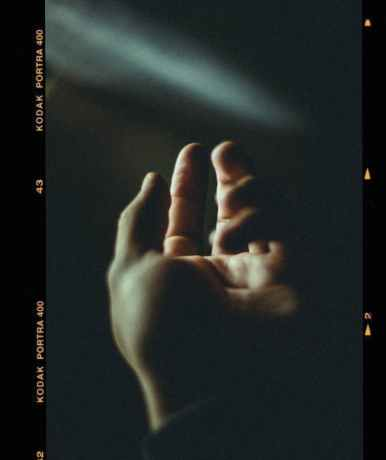 human hand screengrab