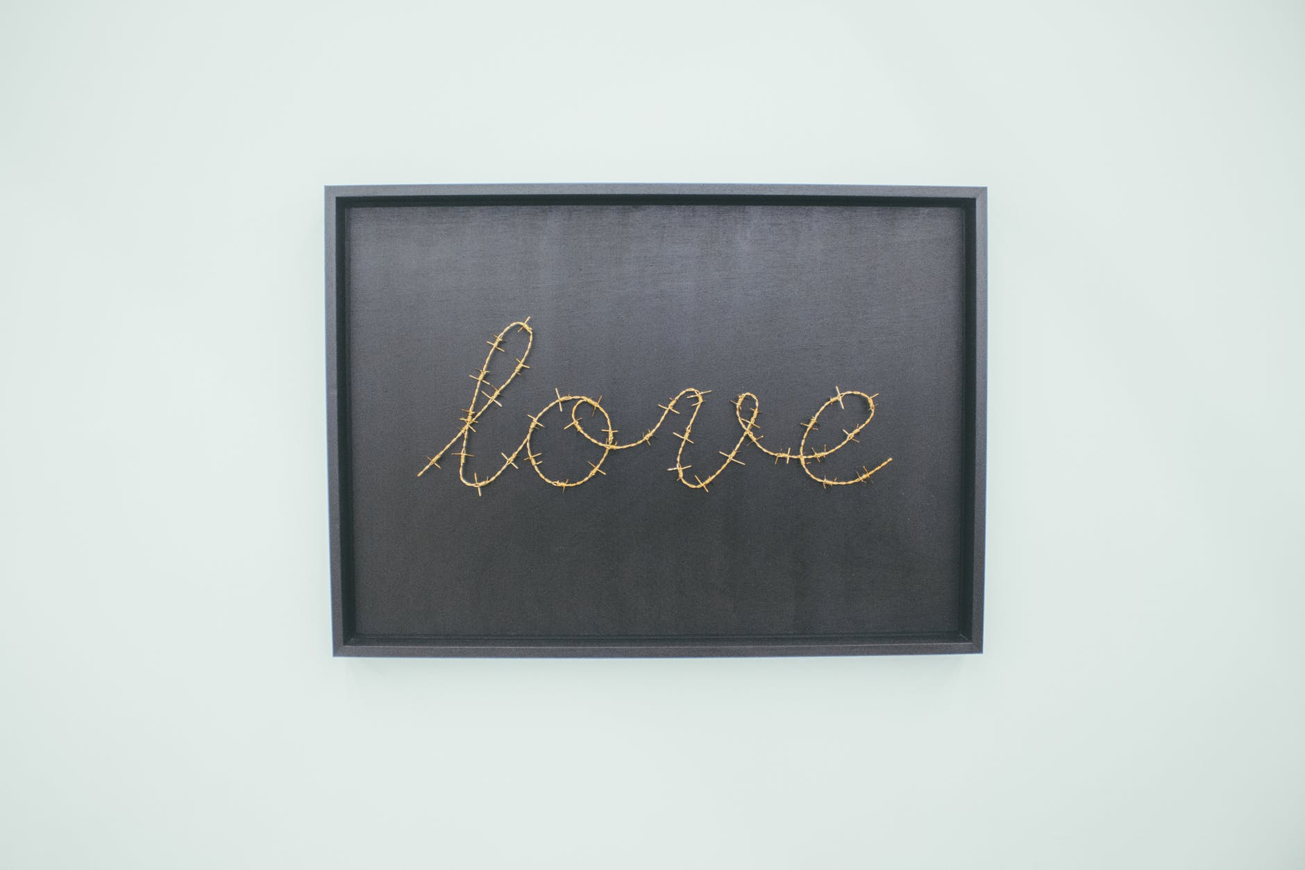 love text sign